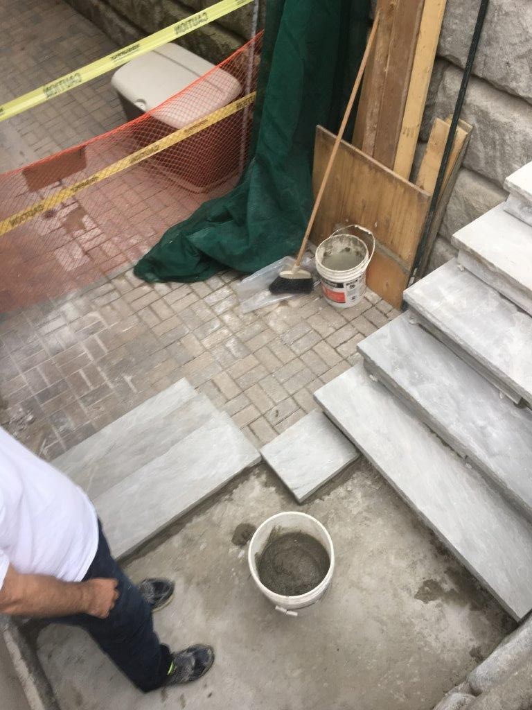 stair and patio repairs