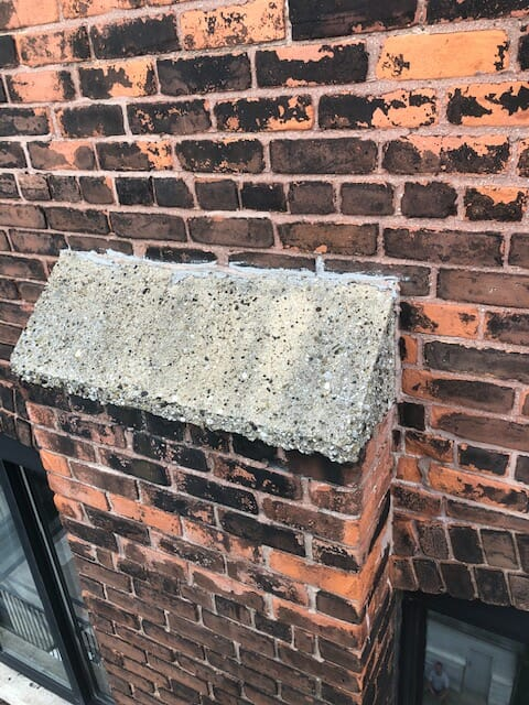 brick cap repair