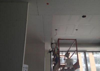 drop ceiling lobby